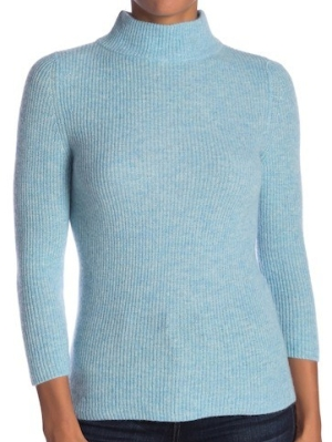 Kinross Soft Ribbed Cashmere Pullover