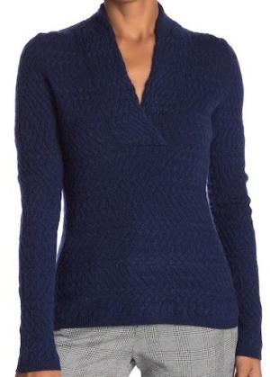 KinrossV-Neck Cashmere Sweater