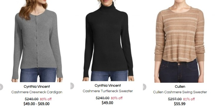 cheap cashmere sweaters