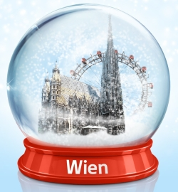 vienna Snow globe